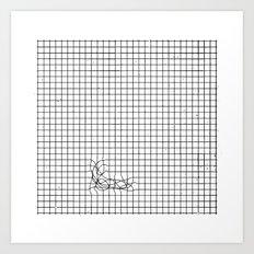 Haywire Art Print
