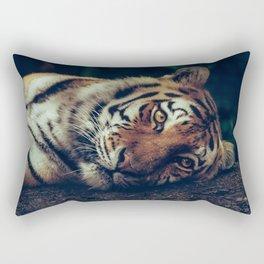 live like a tiger Rectangular Pillow