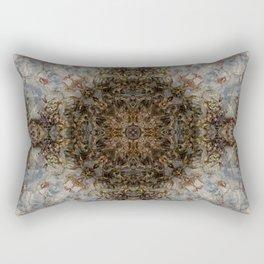 Four Alien Mona Lisas Rectangular Pillow