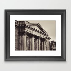 Trinity Architecture Framed Art Print