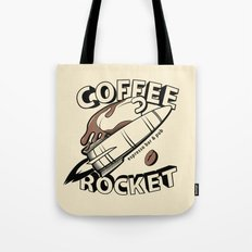COFFEE ROCKET Tote Bag