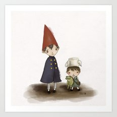 Wirt and Greg  Art Print