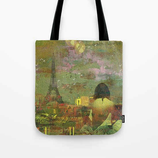 On the roofs of Paris Tote Bag