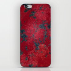 Blood Pixel Whisper iPhone & iPod Skin