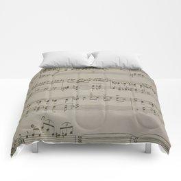 Rhapsody in Blue Comforters