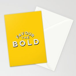 Favour the BOLDER Stationery Cards