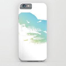 Elephant in Blue iPhone 6s Slim Case