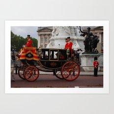 The Royal Carriage 7 Art Print