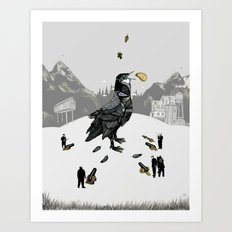 The Capture of the Bird King Art Print