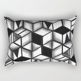 Obstacles 3D Rectangular Pillow