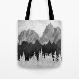 Layered Landscapes Tote Bag