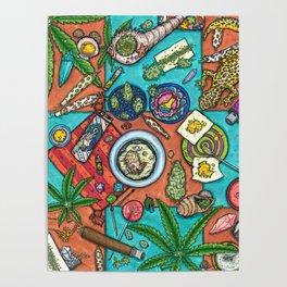 Ocean Grown : Cannabis Altar III Poster