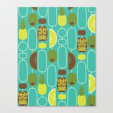 Tiki Weekend Canvas Print