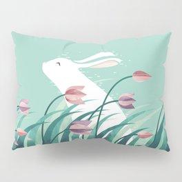 Rabbit, Resting Pillow Sham