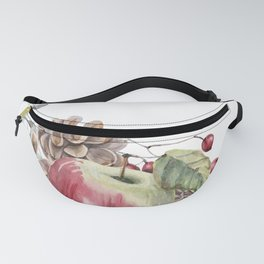 Winter Composition Fanny Pack