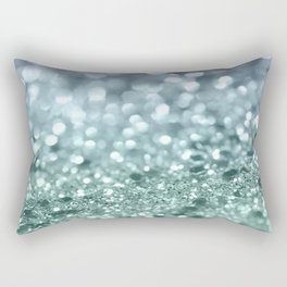 Summer Mermaid Girls Glitter #1 #shiny #decor #art #society6 Rectangular Pillow