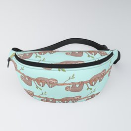 Lazy Baby Sloth Pattern Fanny Pack