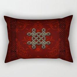 Decorative celtic knot Rectangular Pillow