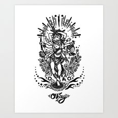 West Kali - Dark Art Print
