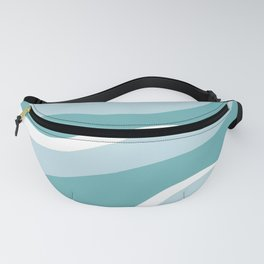 blue mountain sunset Fanny Pack