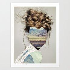 Haircut 1 Art Print