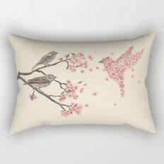 Blossom Bird  Rectangular Pillow