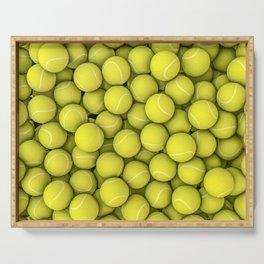 Tennis balls Serving Tray