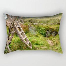 Stile To Tryfan Mountain Rectangular Pillow