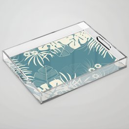 Tropical pattern 047 Acrylic Tray
