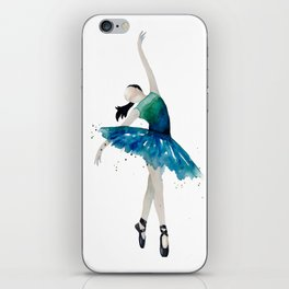 Life is better when you dance iPhone Skin