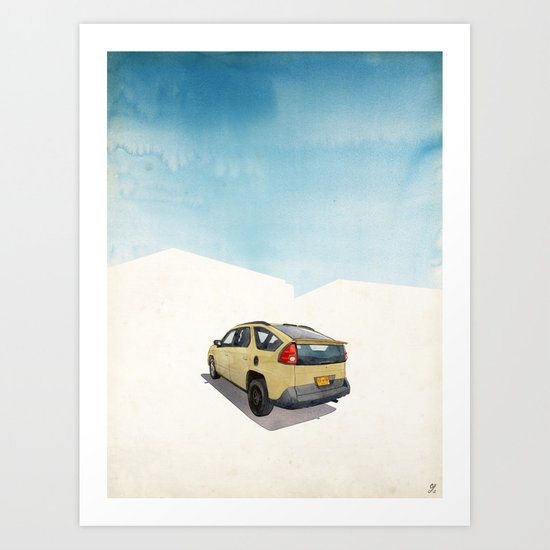Breaking Bad (Land of Enchantment) Art Print