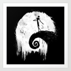 All Hallow's Eve Art Print