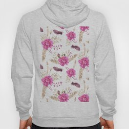 Autumn Forest Floral Hoody