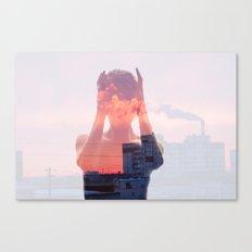 Insideout 8. Mind Pollution Canvas Print