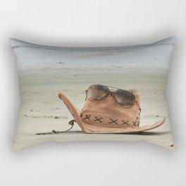 Chill at beach! Rectangular Pillow