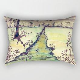 Cold Winter Vintage Rectangular Pillow