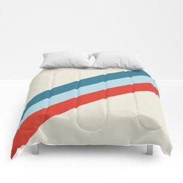 retro stripes 2 Comforters