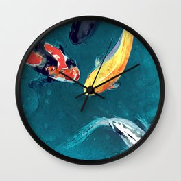Water Ballet Wall Clock