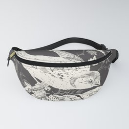 Blackberries and Butterflies Fanny Pack