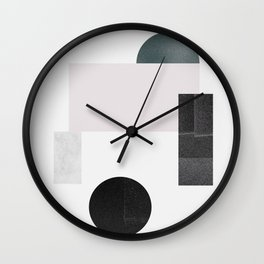 Black ball Wall Clock