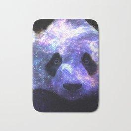 Galaxy Panda Space Colorful Bath Mat