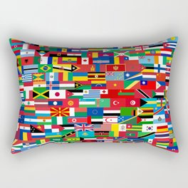 all flag Rectangular Pillow