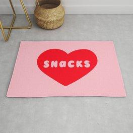 Love Snacks Rug