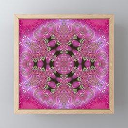 Pink Bohemian Framed Mini Art Print