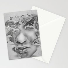 Real vs Surreal Stationery Cards