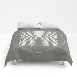 extraterrestrial crop circle, sacred geometry Comforters