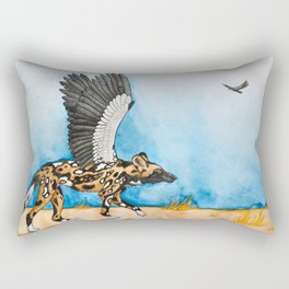 African Simurgh Rectangular Pillow