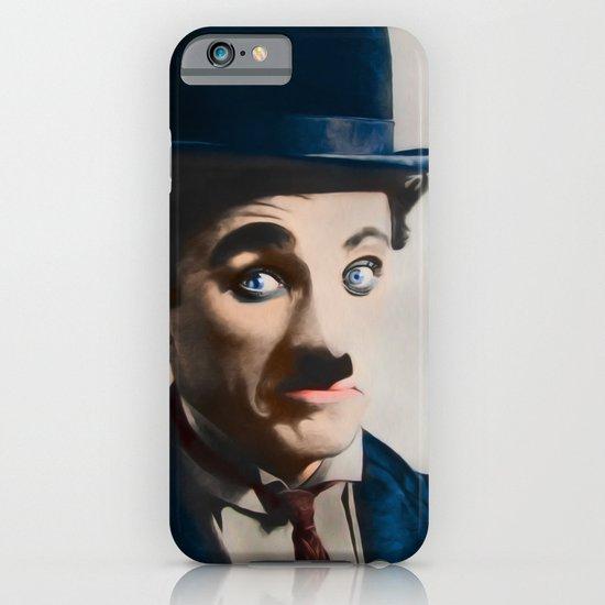 Modern Charlie Chaplin iPhone & iPod Case
