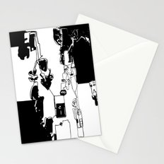 conflicted collection Stationery Cards