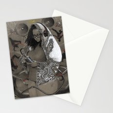 Holy Mother of HipHop Blessed Be Thy Beats. Stationery Cards
